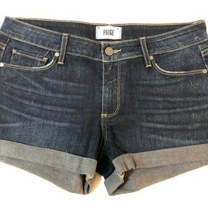 PAIGE Denim Jean Shorts Size 28 Jimmy Jimmy
